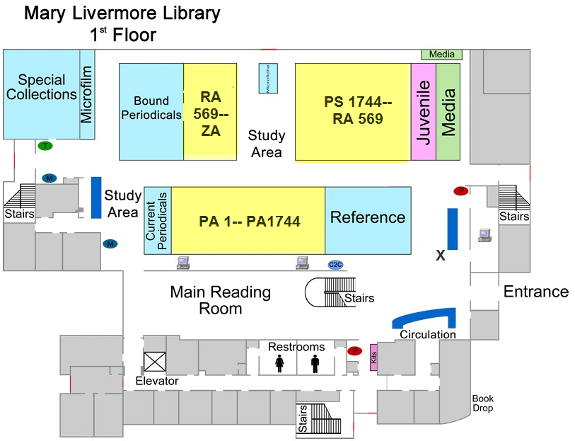 Unc Pembroke Campus Map.Library Floor Plan The University Of North Carolina At Pembroke