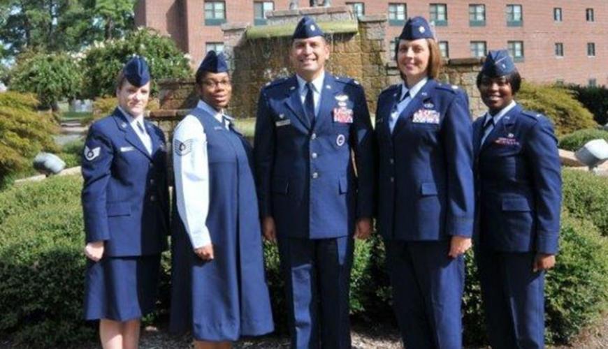 aerospace studies air force rotc the university of
