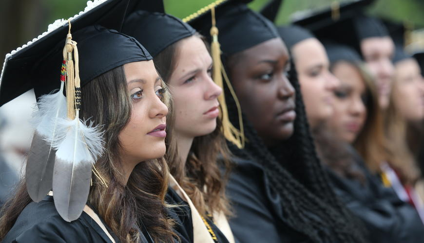 UNCP graduates at 2017 commencement exercises