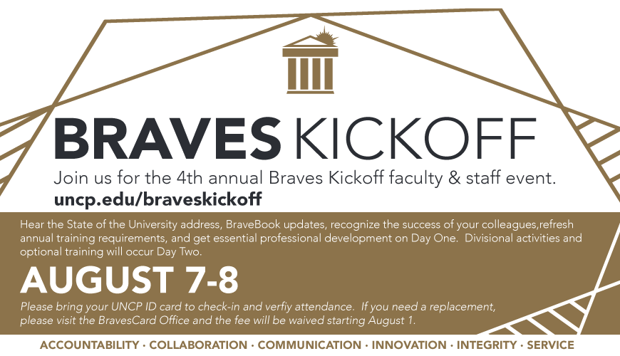 Braves Kickoff on August 7-8, 2019