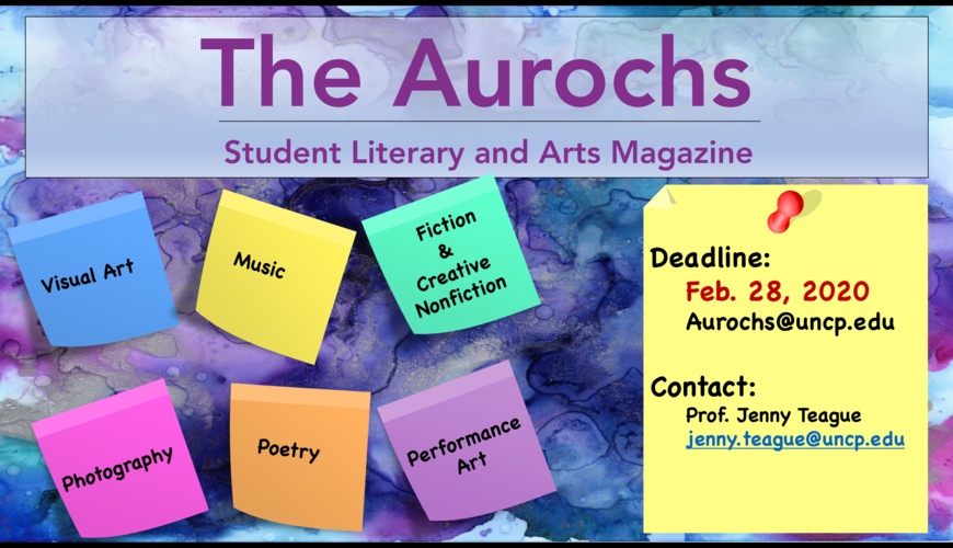 The Aurochs Literary and Arts Magazine