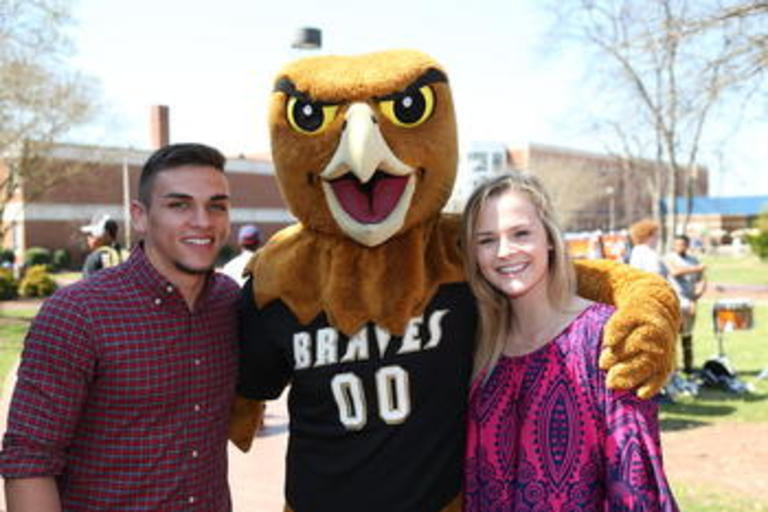 Students with BraveHawk