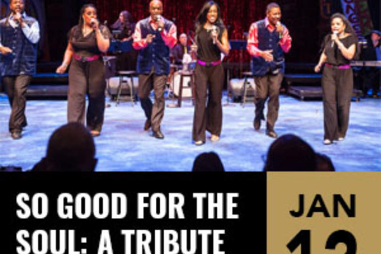 So Good For The Soul: A Tribute to Motown Music