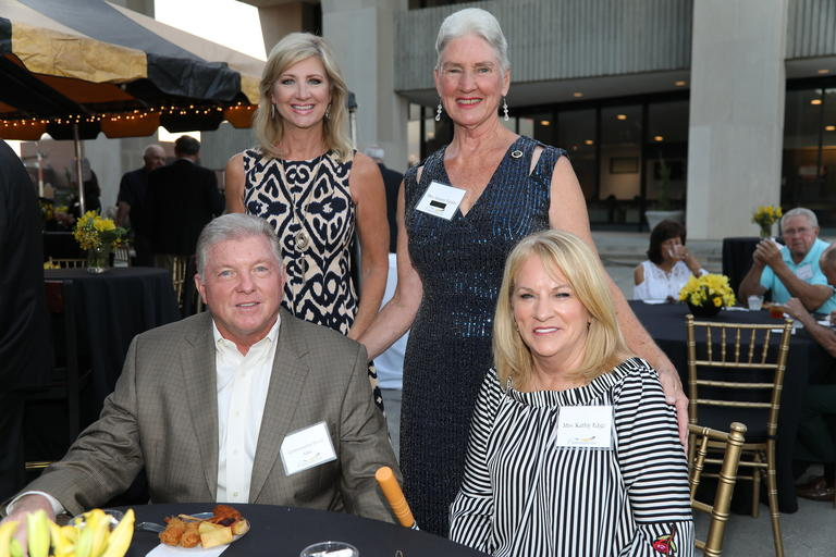 UNCP donors at a Chancellor's Club reception