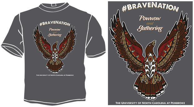 #BraveNation Powwow and Gathering T-shirt