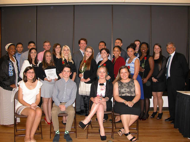 Spring 2016 TriBeta induction banquet