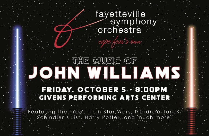 "Fayetteville Symphony Orchestra: ""A Night of John Williams"""