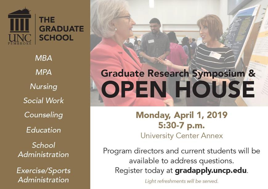 GS symposium and open house