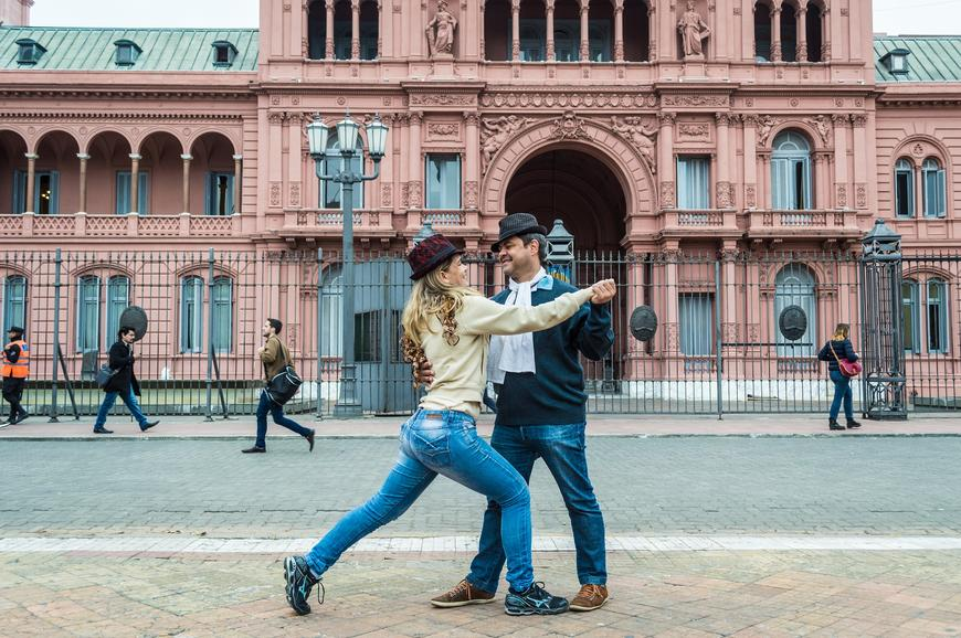 Students tango in Buenos, Aires, Argentina. Photo credit Pixabay