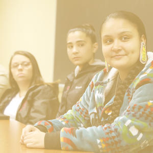 American Indian Studies students
