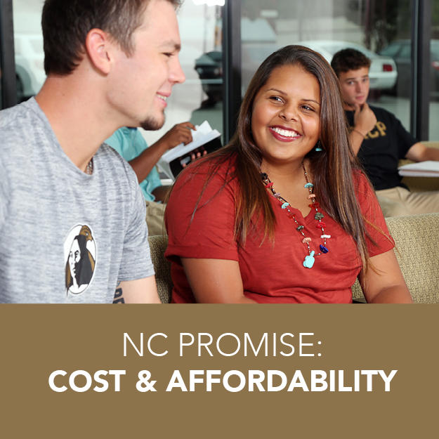 NC PROMISE MAKES UNCP AFFORDABLE