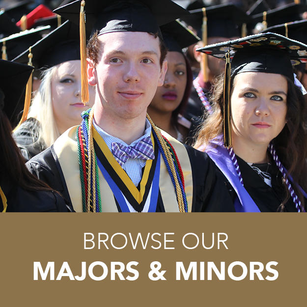 BROWSE OUR MAJORS AND MINORS