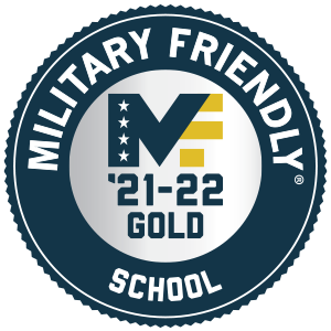Military Friendly School Gold Status 21-22
