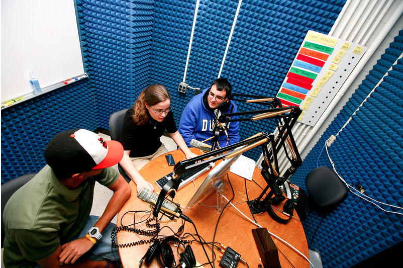On the Air (Mass Communication Dept).