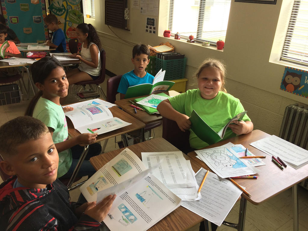 Environmental Literature Service Learning Project at Union Elementary School