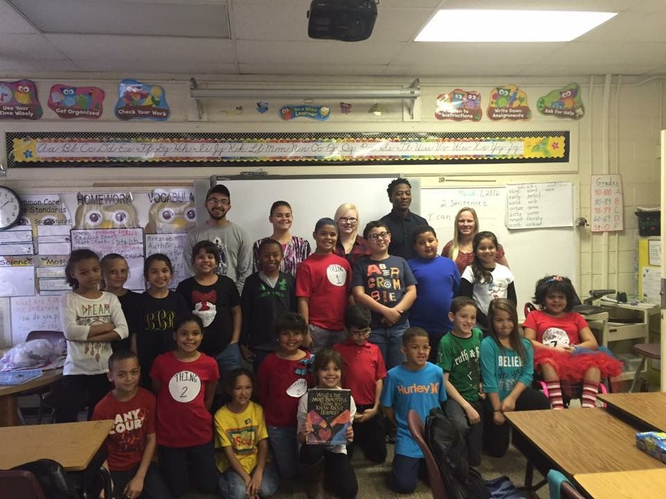 AIS Service Learning at Union Elementary School