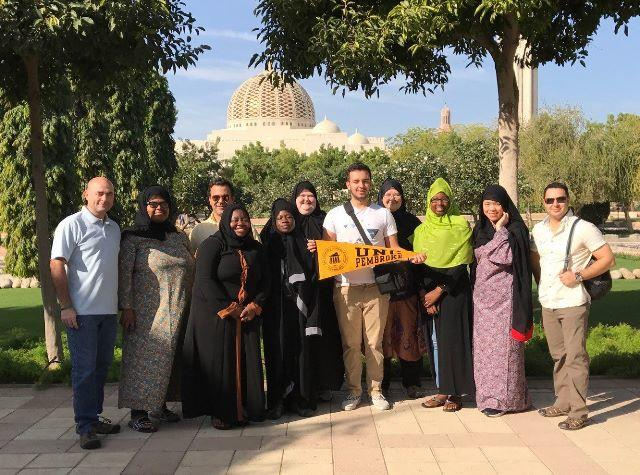 Students Study Abroad in Oman