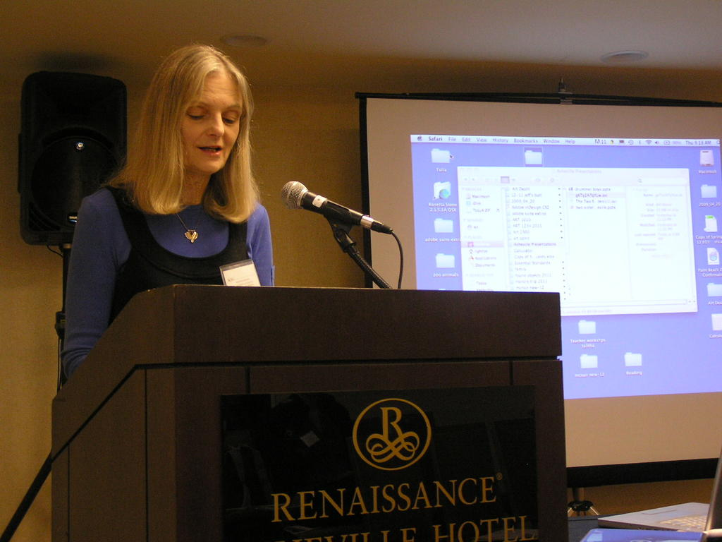 Dr. Monika Brown at the annual Nineteenth Century Studies Association conference