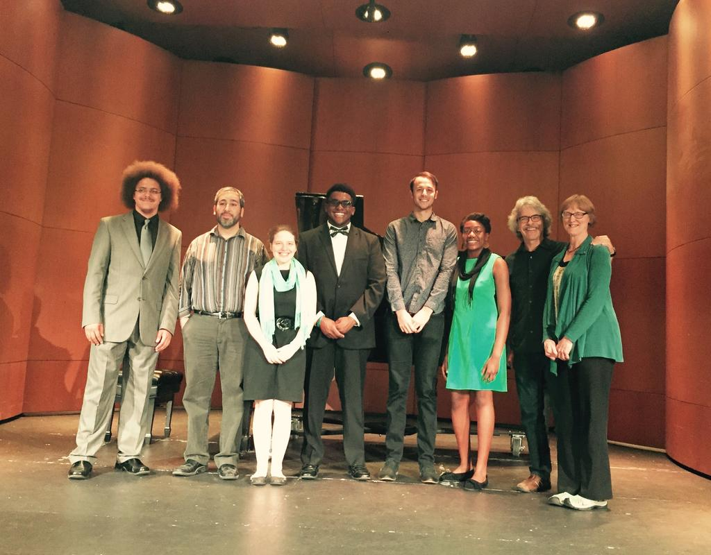 Music Students Presented a Concert in Honor of Retiring Faculty