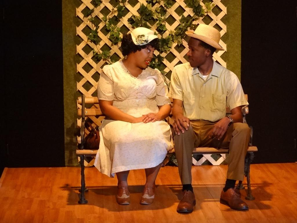 UNC-P Theatre majors bring Arlene Hutton's _The Last Train to Nibroc_ to the UNCP stage