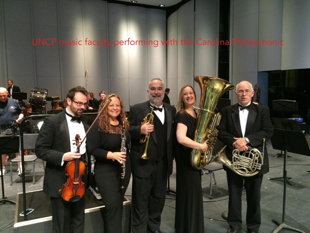 UNCP Music Faculty Perform with the Carolina Philharmonic