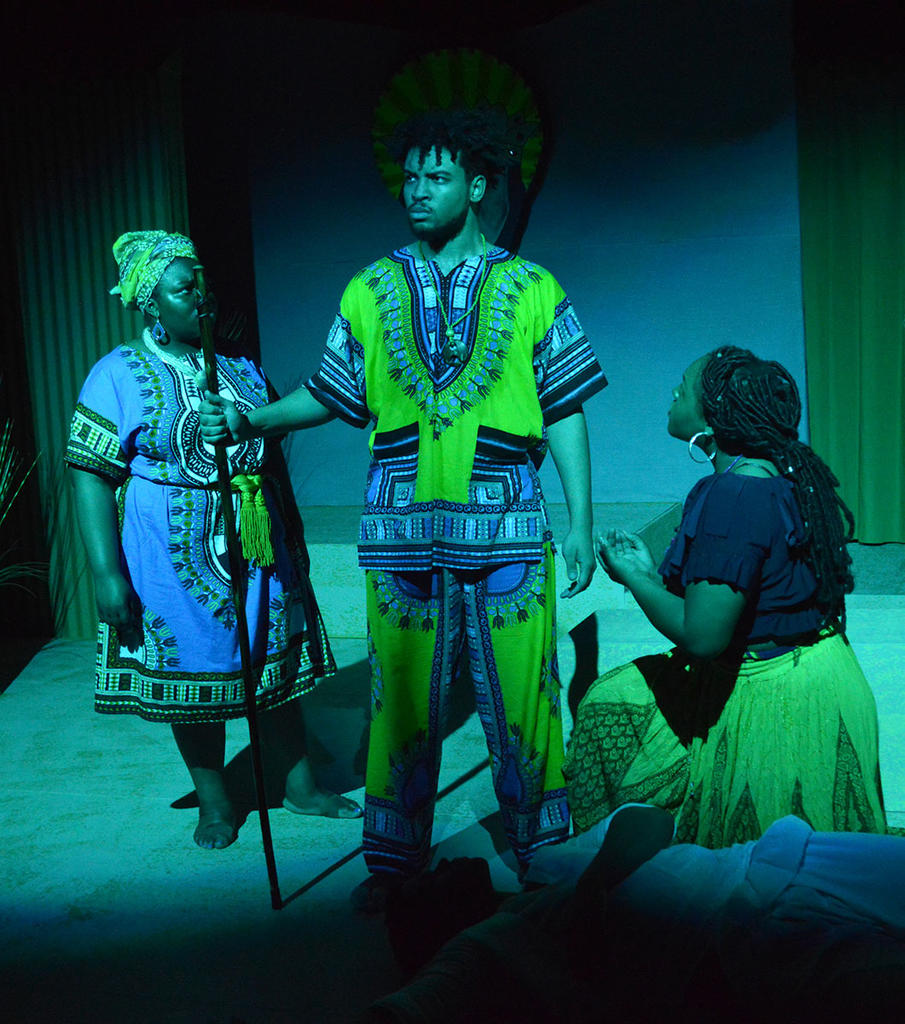 Theatre Students Present the One-act Musical, _Once on This Island_