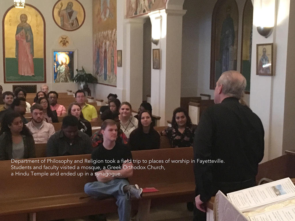 Religion Students Visit Worship Sites