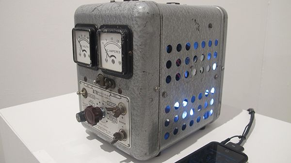 Third Prize: Jayson Randall, Magic Box  (Electronic Sculpture, 2015)