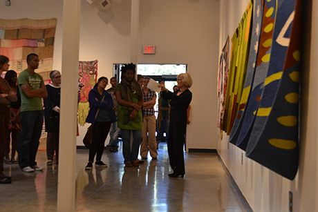 Reception and Gallery Talk