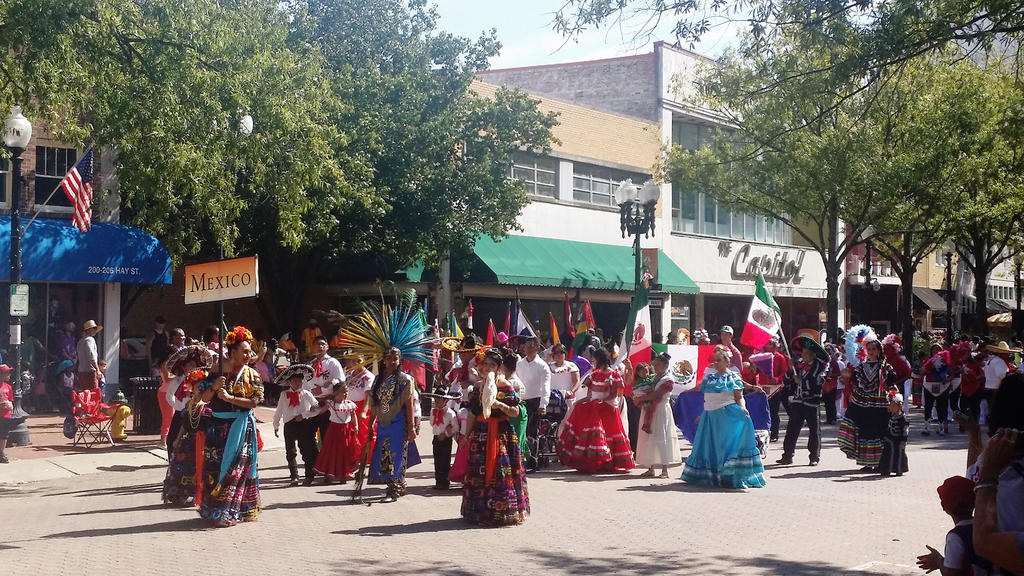 International Folk Festival in Fayetteville, NC