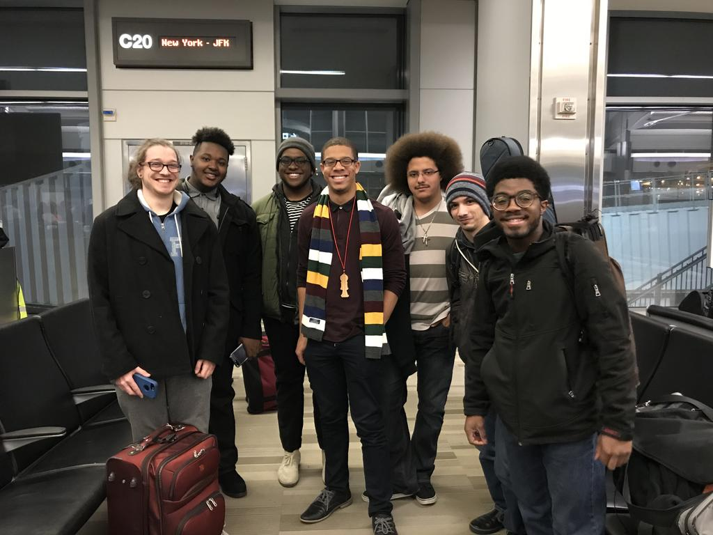 Jazz Combo Heading to a Conference (Music Dept.)