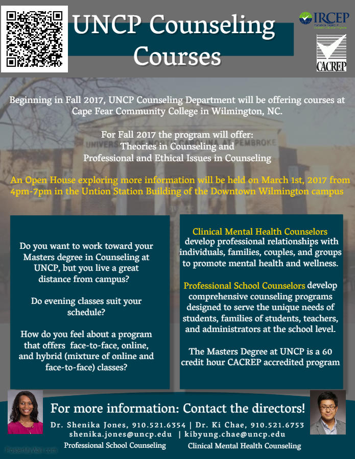 Counseling Programs Wilmington Initiative The University Of North