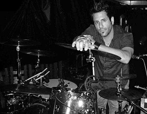 Rich Redmond - drummer for Jason Aldean  February 5, 2010