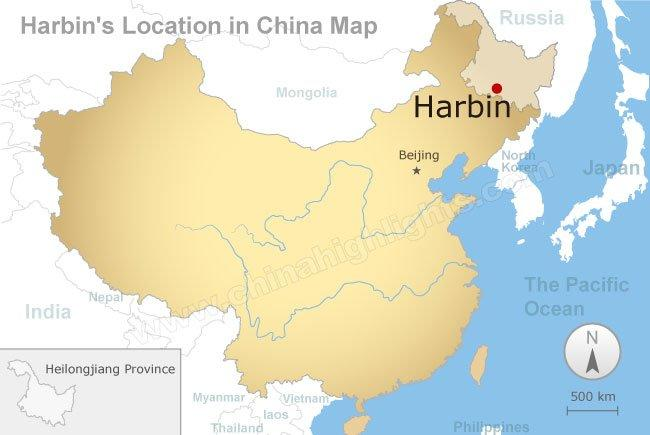 Harbin Map