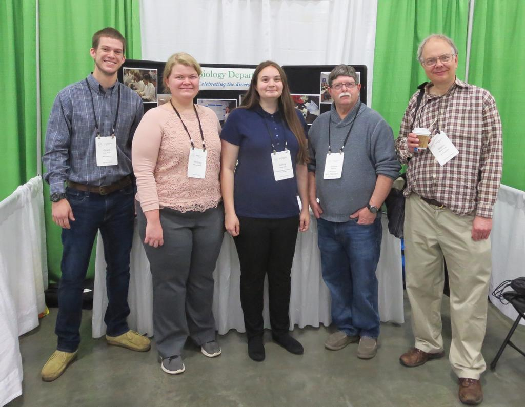 Grant Wood, Whitney Pittman, Ashley Lytle, and Drs. Andrew Ash and Martin Farley