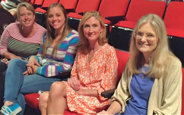 Dr. Monika's Brown's graduate class attends a play.