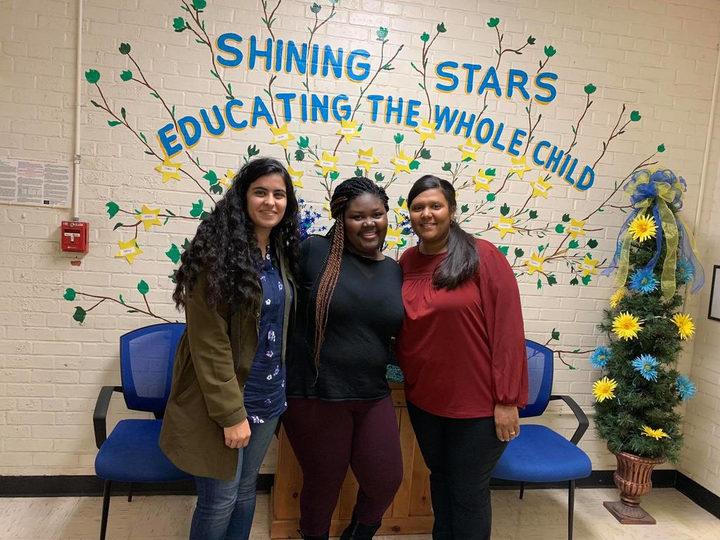 HCC Volunteers at Shining Stars