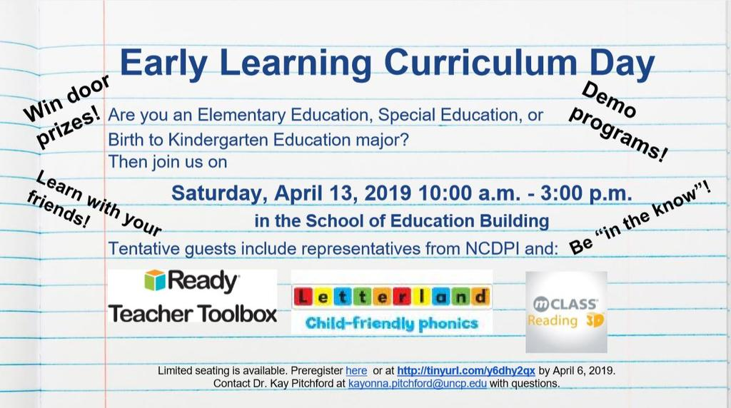 Early Learning Curriculum Day