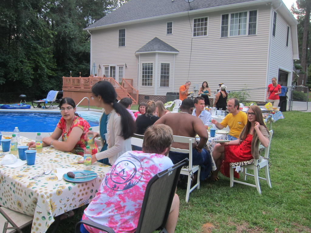 Cookout_Welcome_Cohort-II_August_2015