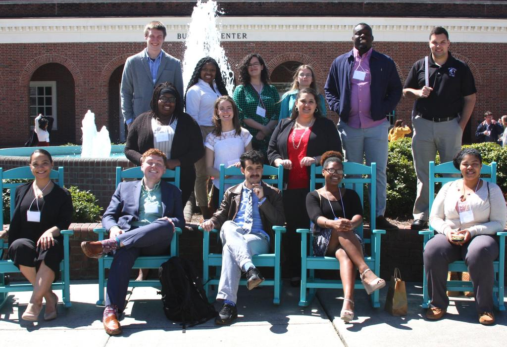 RISE STUDENTS PRESENT RESEARCH AT NCAS CONFERENCE AT UNCW