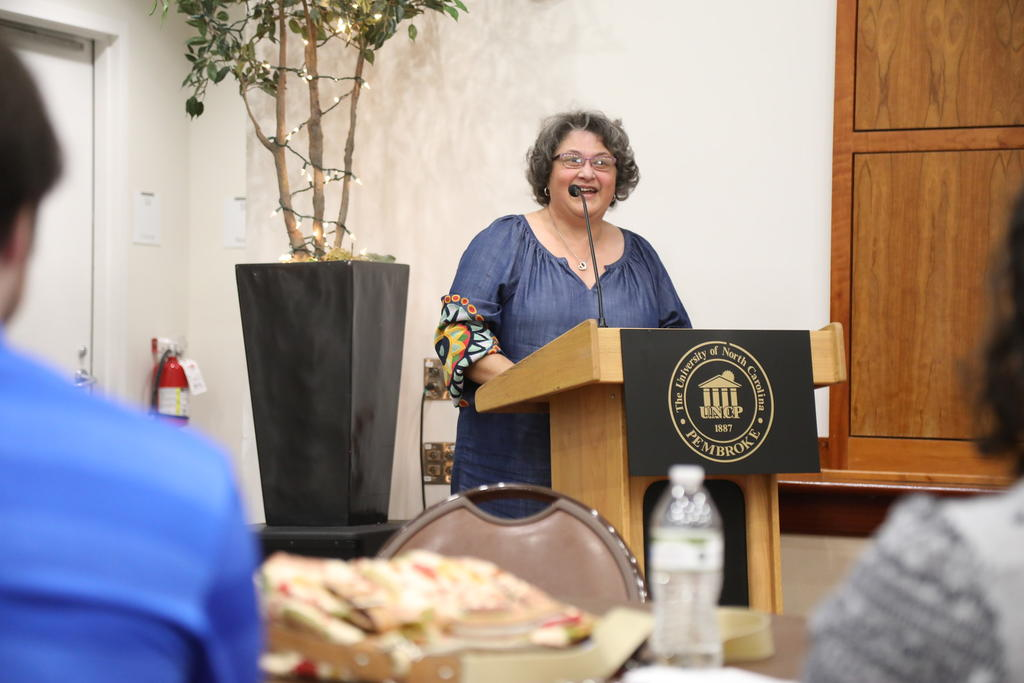 Dr, Velinda Woriax, Biology Chair, Announces Biology Awards