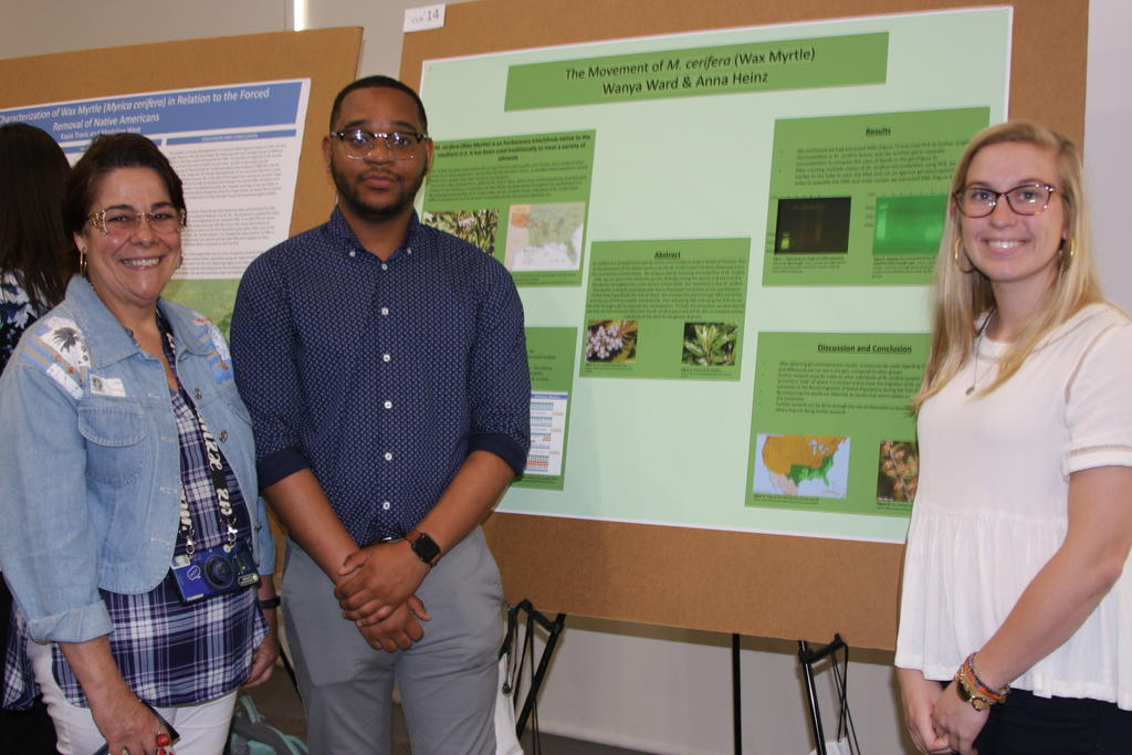 STUDENTS PRESENT CURE AT PURC SYMPOSIUM