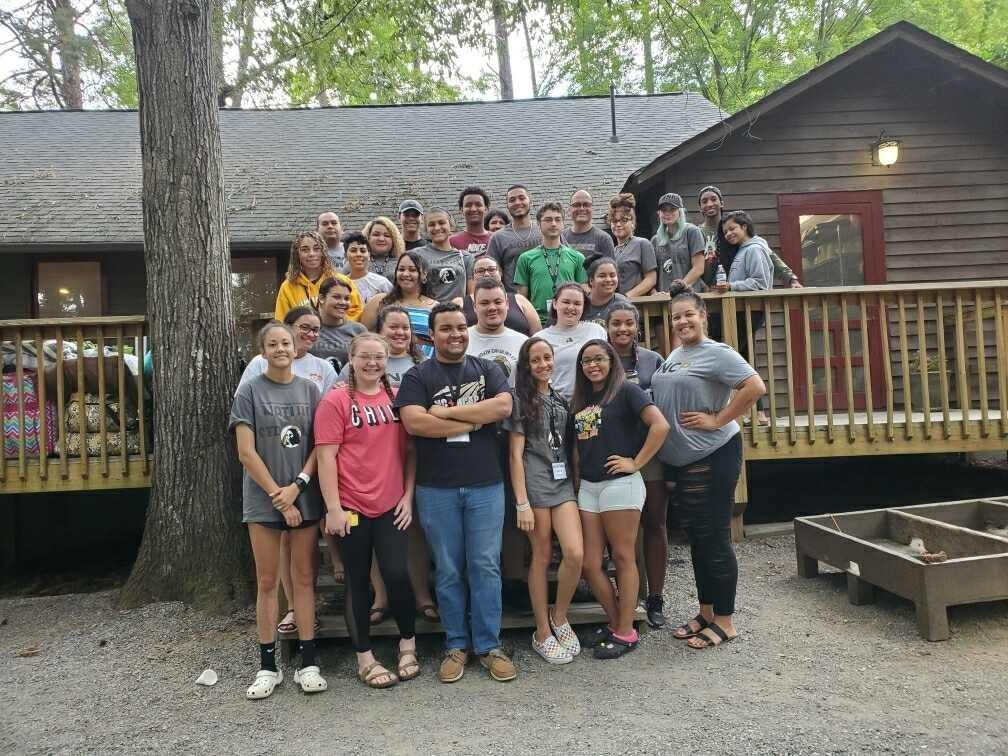 Native Strong participants visited the U.S. Whitewater Center and Cedar Grove Retreat in Charlotte Aug. 8-10