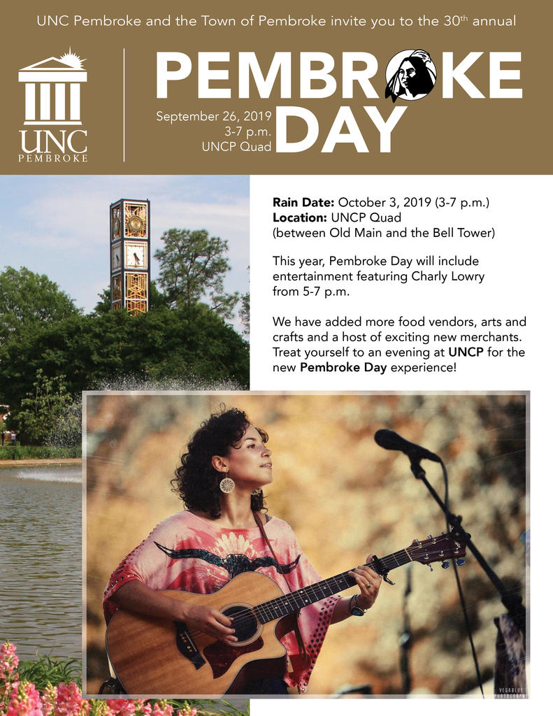 Pembroke Day flyer