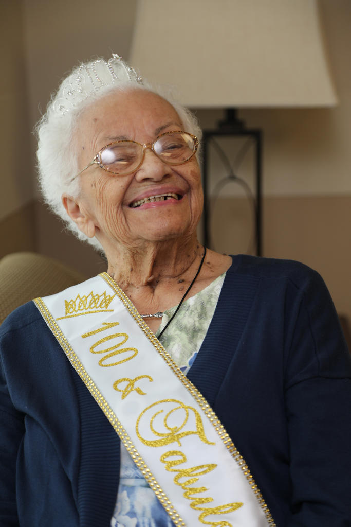 Beulah Ransom Kemerer celebrated her 100th birthday on September 6