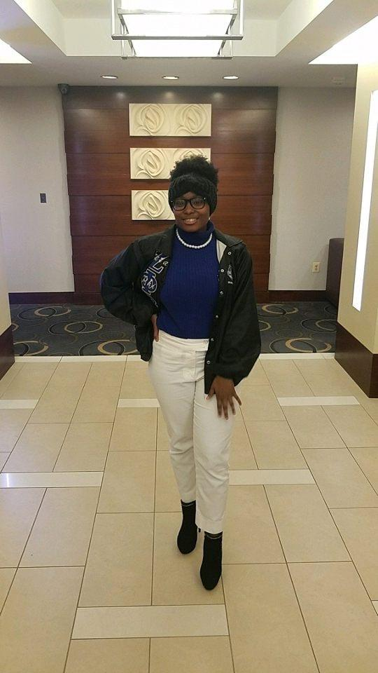 Christen Bass, a member of Zeta Phi Beta attended the 10th annual ROADTRIP! Leadership Conference in Washington, DC