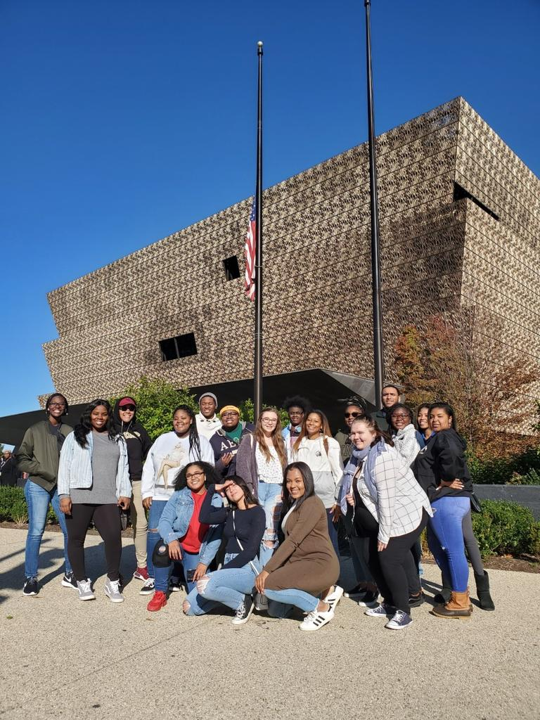 A group of UNCP students toured Washington, D.C. as part of the sixth annual 'UNCP in DC' alternative fall break trip