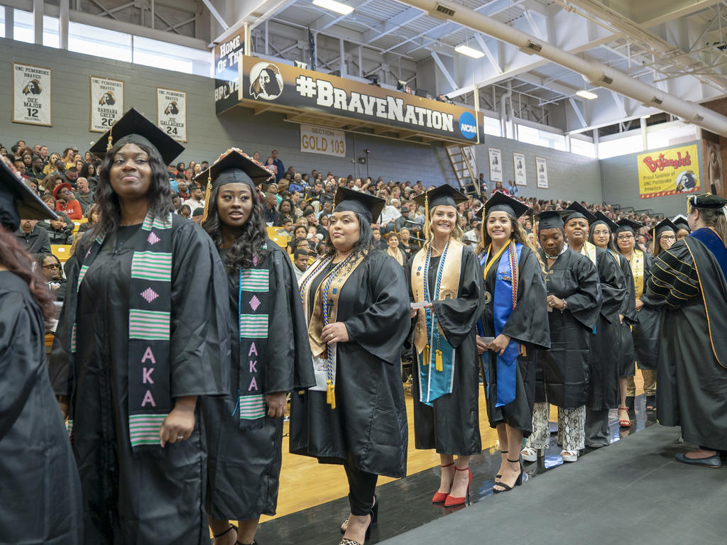 UNCP Winter Commencement