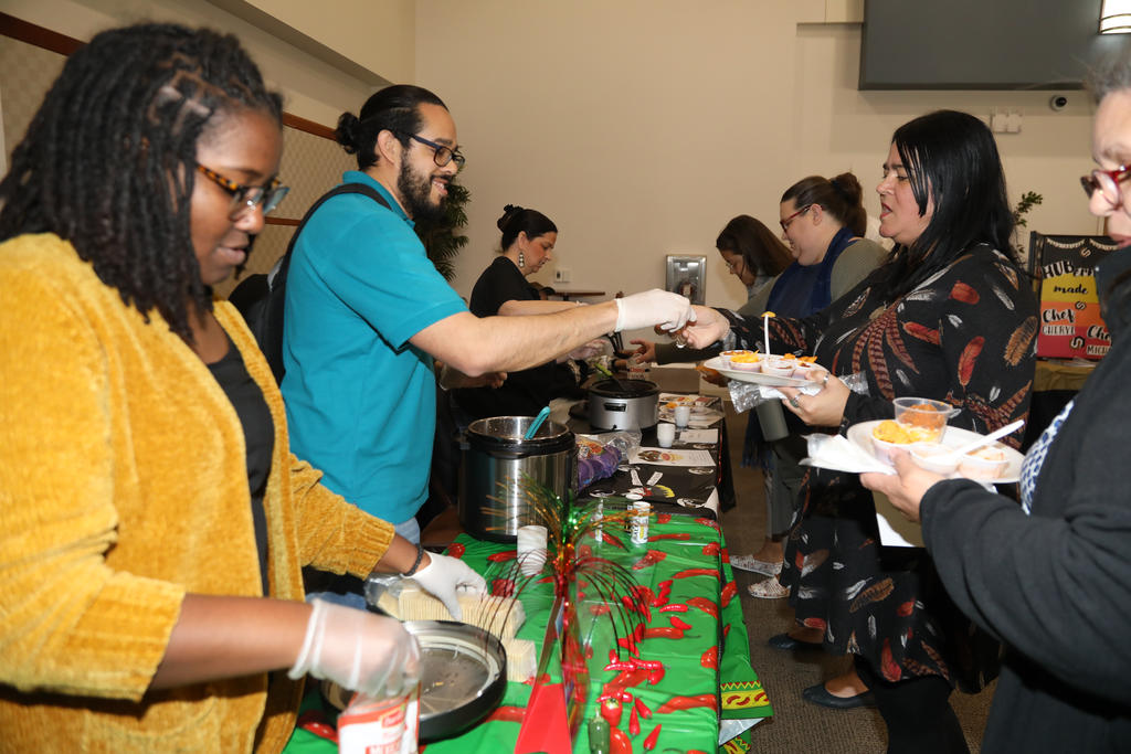 The annual Staff & Faculty Council Chili Cook-Off was held in the UC Annex on March 9