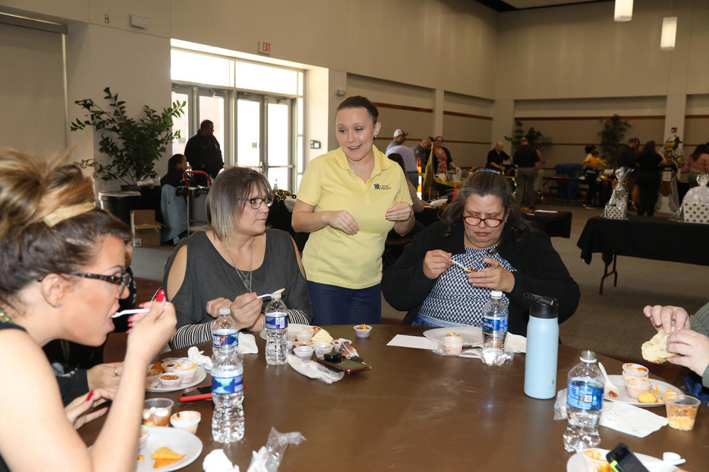 The annual UNCP Staff & Faculty Chili Cook-Off was held in the UC Annex on March 9